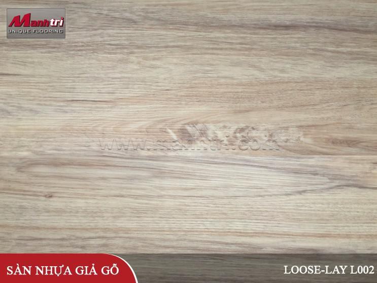 Sàn nhựa giả gỗ Loose-Lay L002