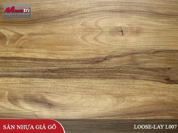 Sàn nhựa giả gỗ Loose-Lay L007