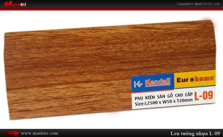 Len chân tường sàn gỗ L 09