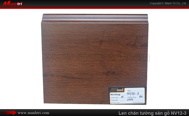 Len chân tường sàn gỗ Awood NV12-3