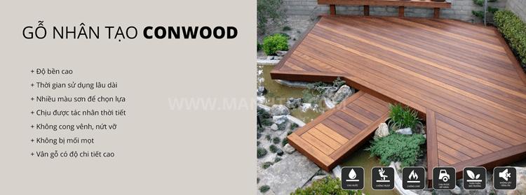 gỗ nhân tạo conwood hình 1