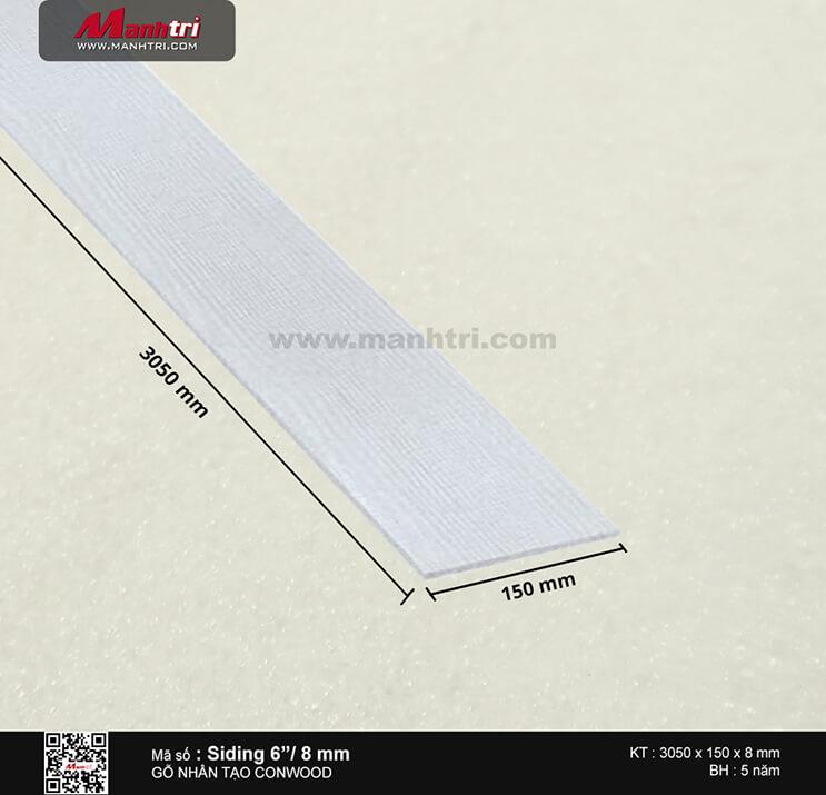 "Ốp tường CONWOOD Siding 6""/8 mm"
