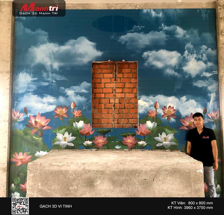 Công trình 3D ốp tường ở Vũng Tàu (Phần 1)