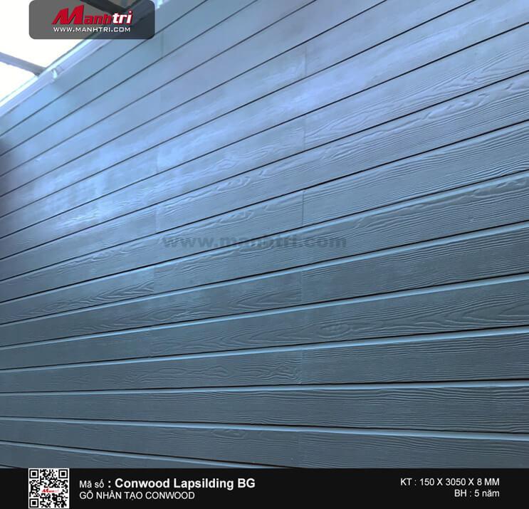 Gỗ Conwood Lapsilding BG ốp tường ngoài trời tại QL51, Bà Rịa – Vũng Tàu