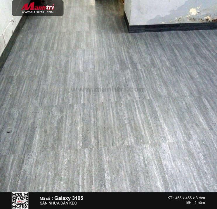 Thi công sàn nhựa dán keo Galaxy 3105 tại Nguyễn Trọng Tuyển, Q.Phú Nhuận