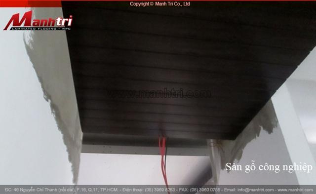 Dự án thi công len nhựa B810-40 ốp trần nhà tại quận 2 TPHCM