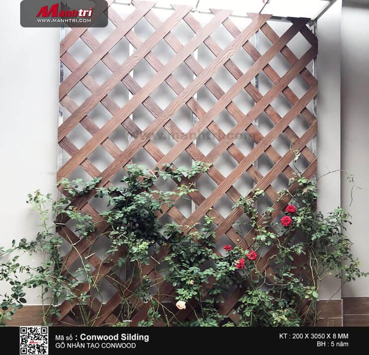 Conwood Silding làm giàn hoa tại QL51, Bà Rịa – Vũng Tàu
