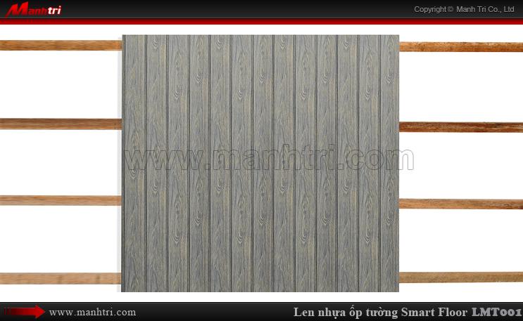 Len nhựa Smart Floor LMT001 ốp tường nhà anh Tùng tại quận 11, TPHCM