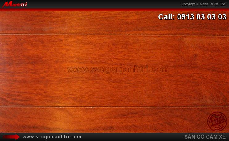 Thi công gỗ tự nhiên Căm Xe tại quận 3, TPHCM