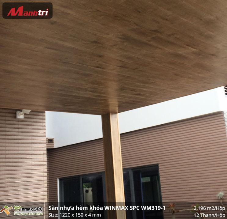 Thi công sàn nhựa hèm khóa SPC Winmax WM319-1 tại Cai Lậy, Tiền Giang