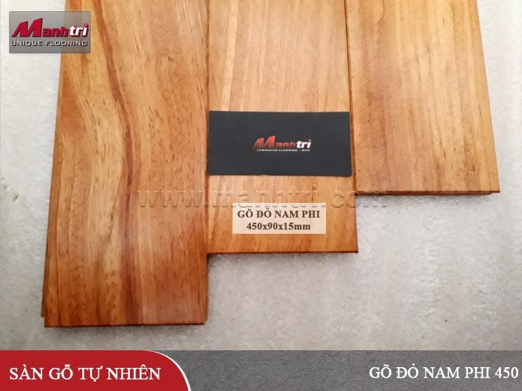 Sàn gỗ Gõ Đỏ Nam Phi 450
