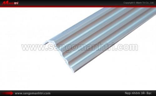 Nẹp nhôm sàn gỗ 3R bạc
