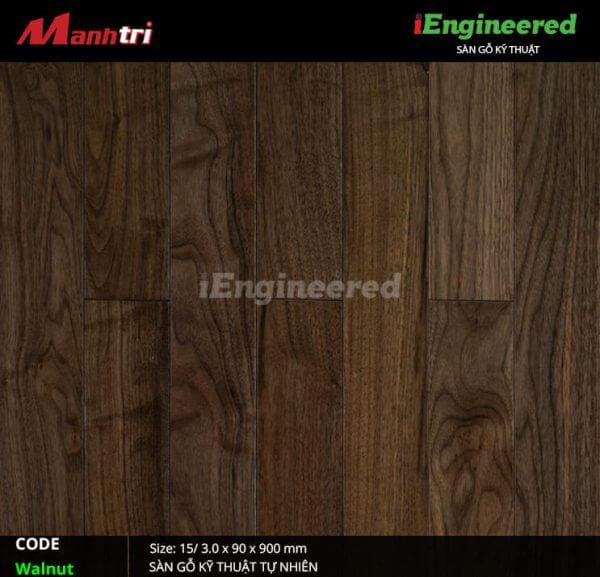 Sàn gỗ kỹ thuật Walnut Engineer