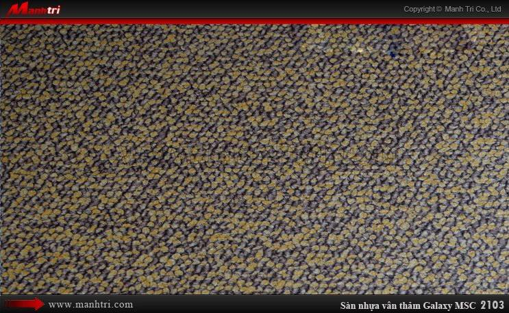 Sàn nhựa vân thảm Galaxy MSC 2103
