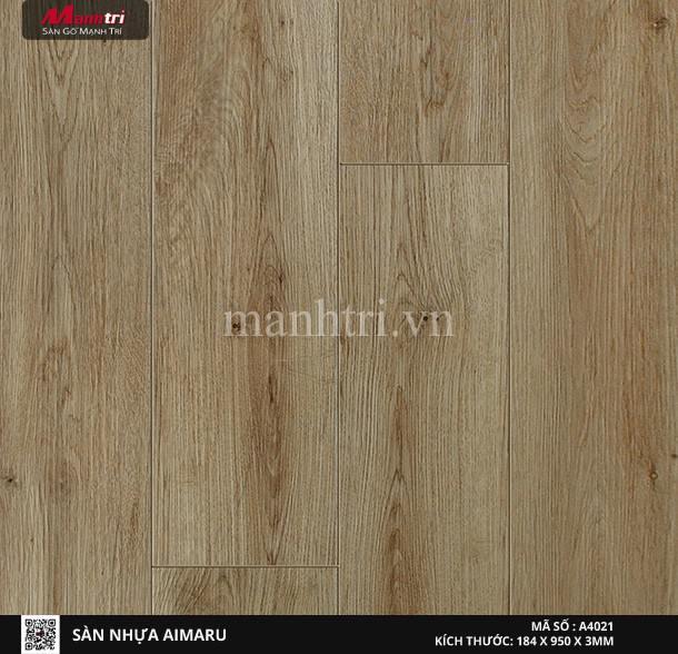 Sàn nhựa giả gỗ Aimaru 4021
