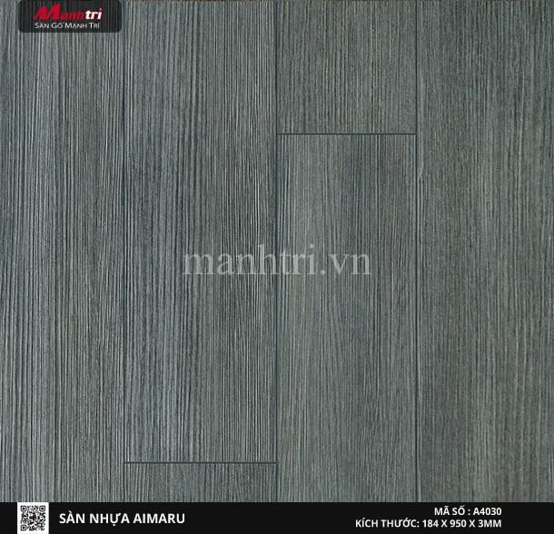 Sàn nhựa giả gỗ Aimaru 4030