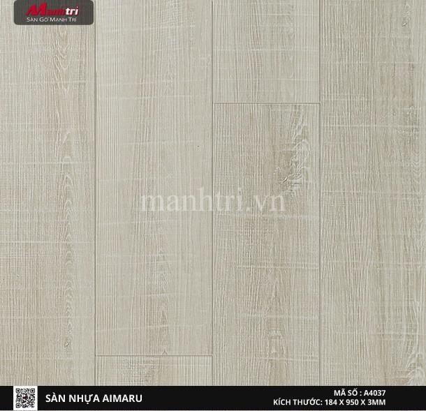 Sàn nhựa giả gỗ Aimaru 4037
