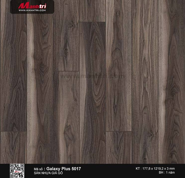 Sàn nhựa giả gỗ Galaxy Plus 5017