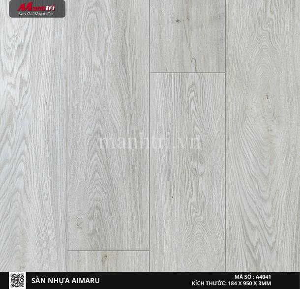 Sàn nhựa giả gỗ Aimaru 4041