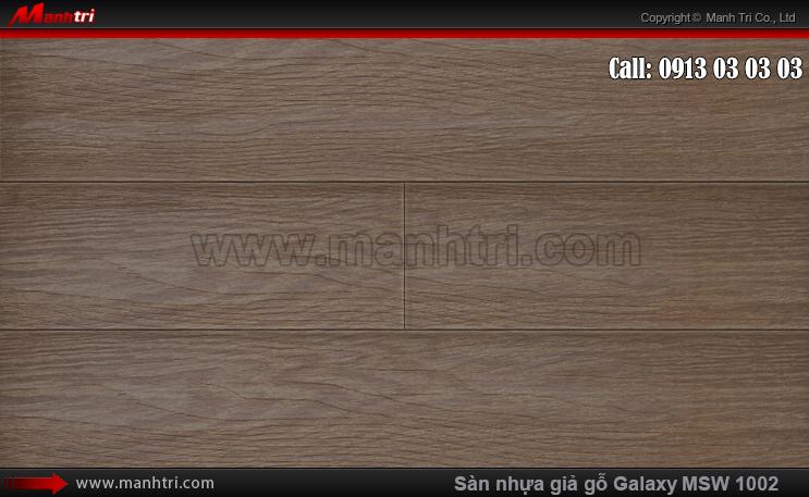 Sàn nhựa giả gỗ Vinyl Galaxy MSW 1002