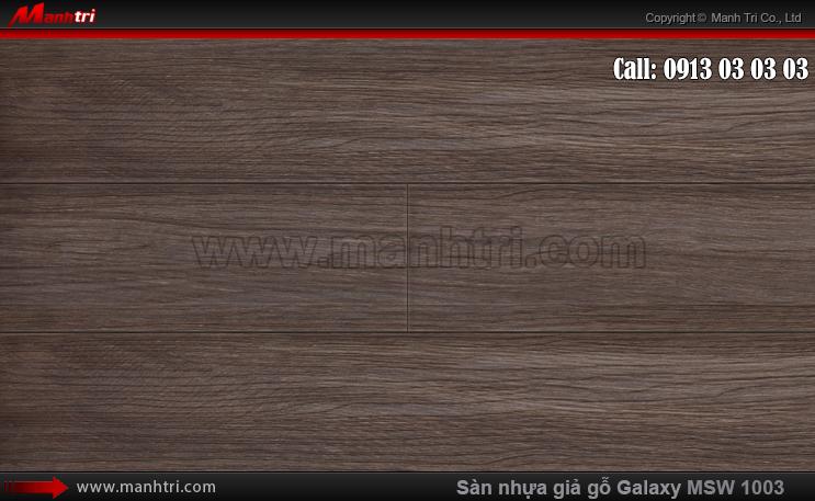 Sàn nhựa giả gỗ Vinyl Galaxy MSW 1003
