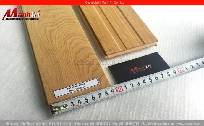 Sàn gỗ Sồi Trắng 900