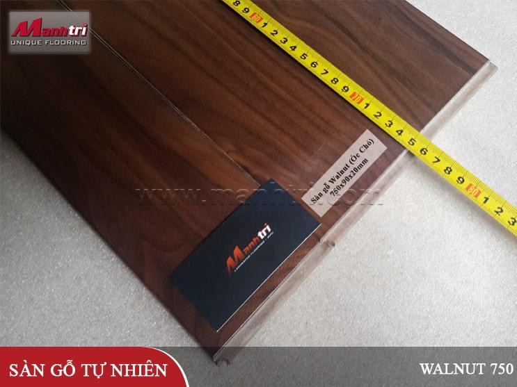 Sàn gỗ Walnut 750