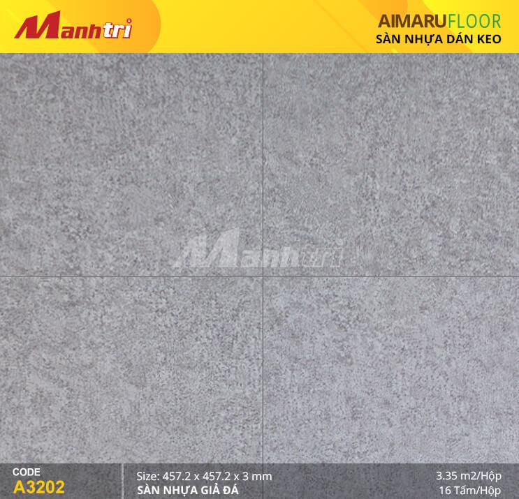 Sàn nhựa Aimaru giả đá A-3202