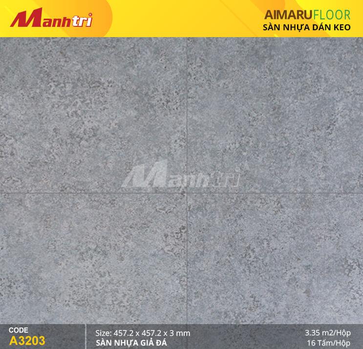 Sàn nhựa Aimaru giả đá A-3203