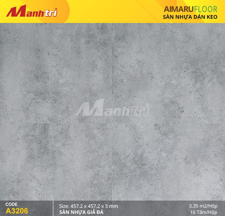 Sàn nhựa Aimaru giả đá A-3206
