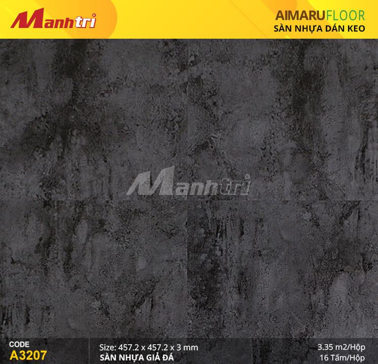 Sàn nhựa Aimaru giả đá A-3207