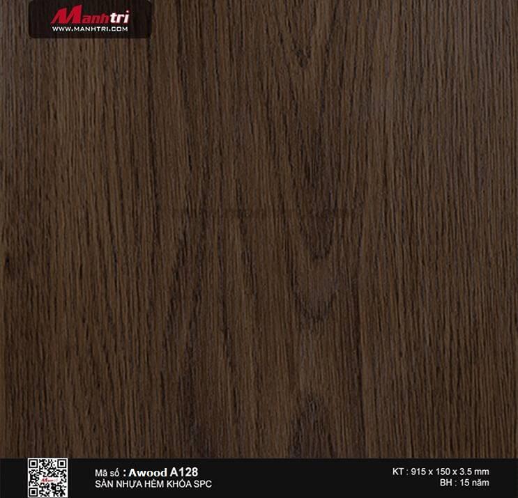 Sàn nhựa hèm khóa Awood SPC A128