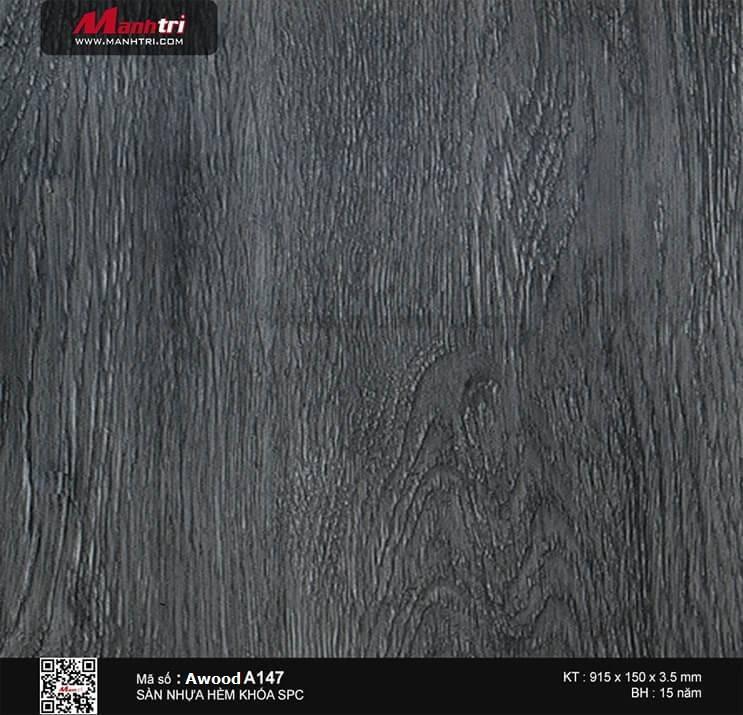 Sàn nhựa hèm khóa Awood SPC A147