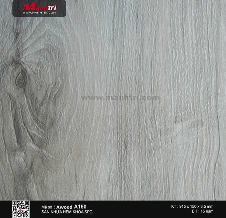 Sàn nhựa hèm khóa Awood SPC A150