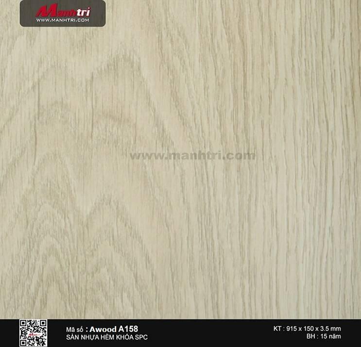Sàn nhựa hèm khóa Awood SPC A158