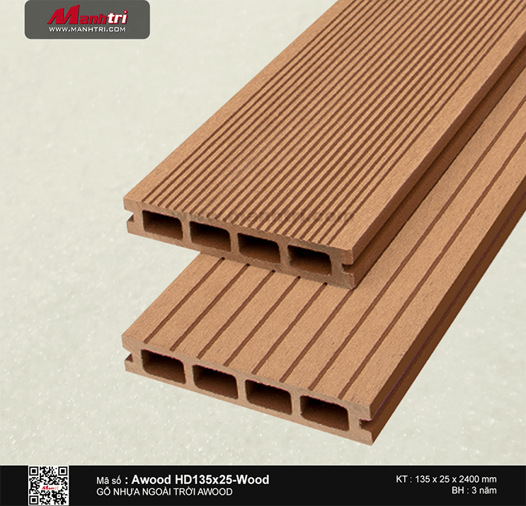 Sàn gỗ Awood HD135x25-Wood
