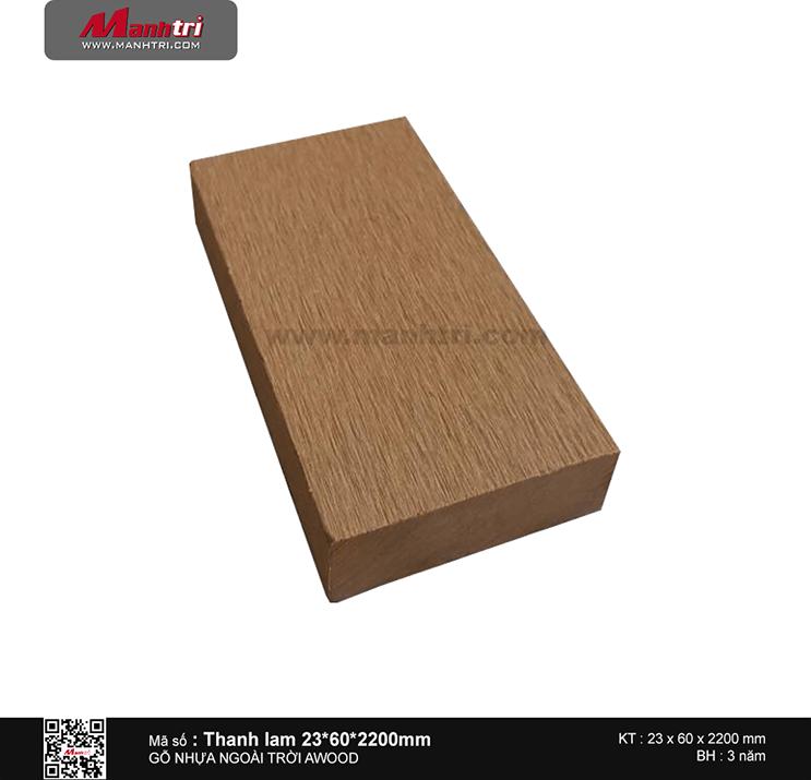 Thanh lam 23x60 Wood