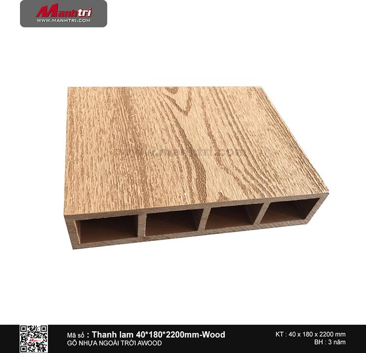Thanh lam 40x180 Wood