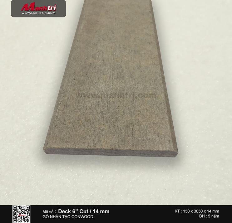 """Sàn gỗ CONWOOD DECK 6""""/14 mm"""