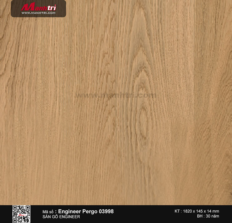Sàn gỗ kĩ thuật Engineer Pergo 03998