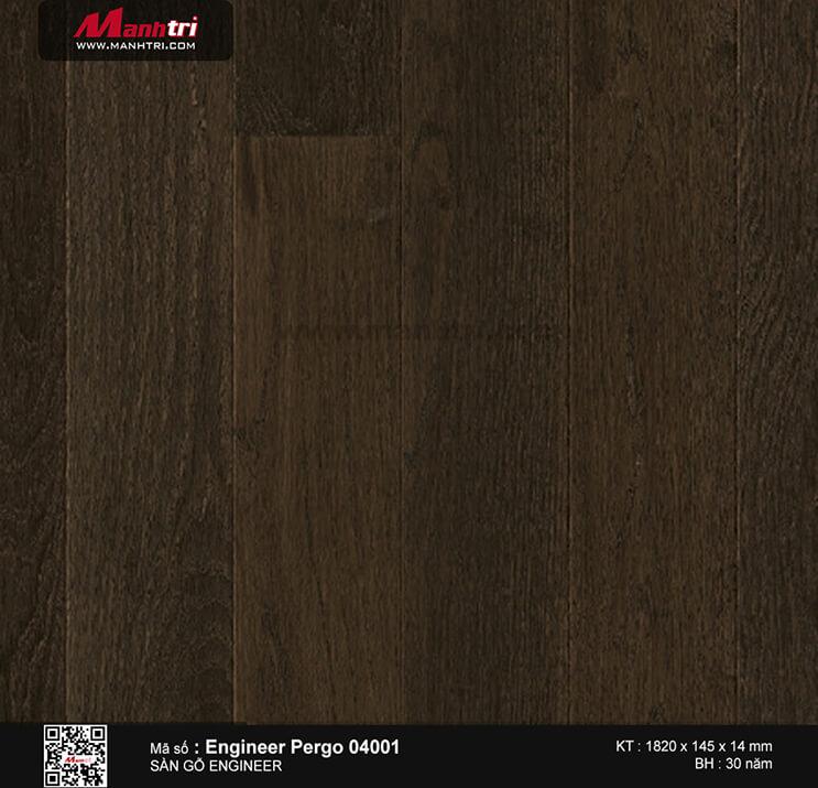Sàn gỗ kĩ thuật Engineer Pergo 04001
