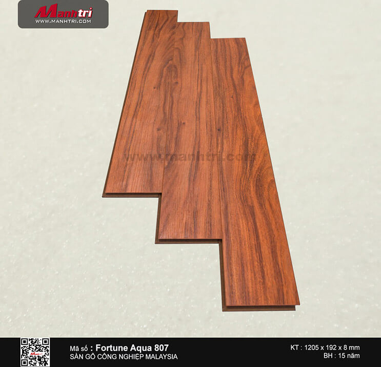 Sàn gỗ Fortune Aqua 807