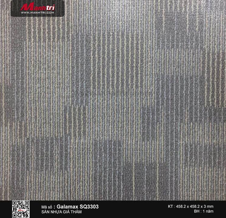 Sàn nhựa giả thảm Galamax SQ3303