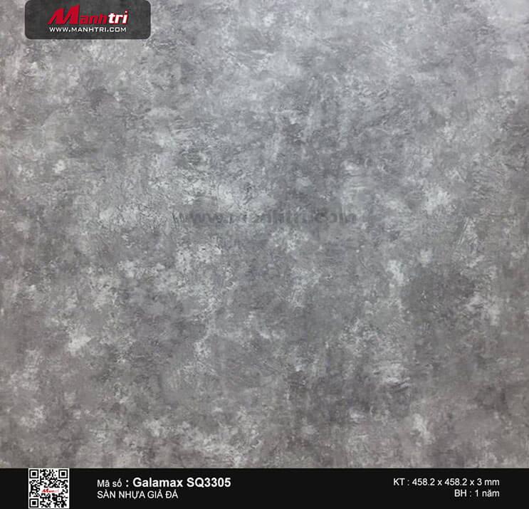 Sàn nhựa giả đá Galamax SQ3305