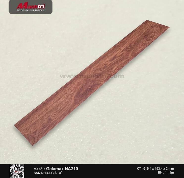 Sàn nhựa giả gỗ Galamax NA210