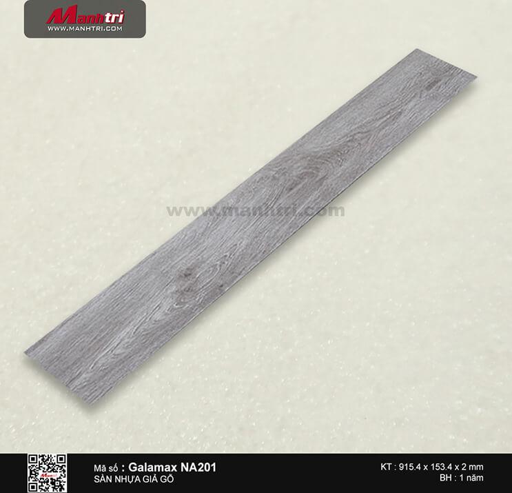 Sàn nhựa giả gỗ Galamax NA201
