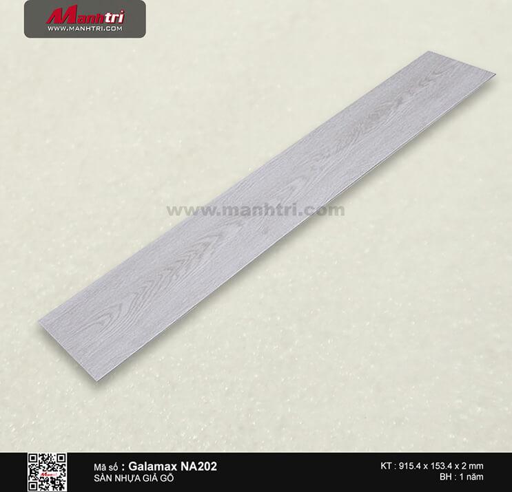 Sàn nhựa giả gỗ Galamax NA202