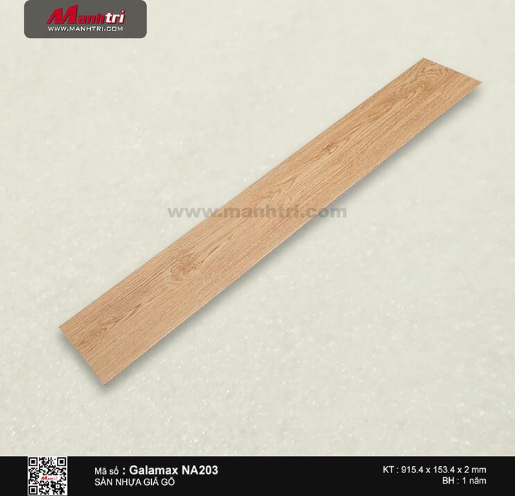 Sàn nhựa giả gỗ Galamax NA203