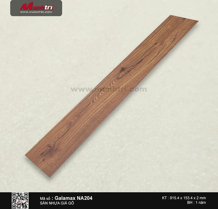 Sàn nhựa giả gỗ Galamax NA204