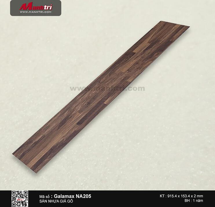 Sàn nhựa giả gỗ Galamax NA205